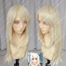 Magical girl Illyasviel gold 60cm high temperature wire cos wig