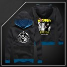 New Anime danganronpa black white bear long Sleeve black Unisex Hoodie Cosplay Costume