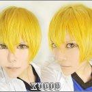 Kise Ryota  Kuroko no Basuke 2 short blonde mix costume cosplay wig