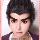 Kiyotaka Ishimaru Danganronpa Dangan-Ronpa black brown short styled cosplay wig