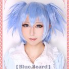 Assassination ClassroomAnsatsu KyoshitsuNagisa Shioda ice blue clip on pinytail cosplsy wig