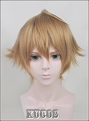 Cosplay Wig Samumenco Samurai Flamenco Fashion Short Blonde Brown Hair