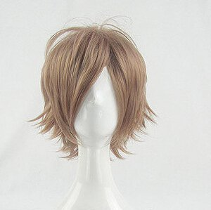 Starry Sky Suzuya Tohzuki light tan Cosplay wig+free shipping