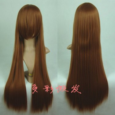Rozen Maiden Jade Stern Suiseiseki light brown 80cm Cosplay wig + free shipping+ Free Wig Cap