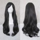 CARDCAPTOR SAKURA Daidouji Tomoyo black 80cm Cosplay wig+free shipping+Free Wig Cap