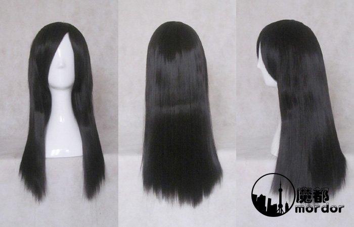 NANA Ichinose Takumi black 60cm Cosplay wig+free shipping+Free Wig Cap