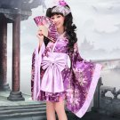 Halloween Lolita Maid Cosplay dress Costume short Japanese kimono Dress skirt Western style clothes