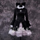 FATE HELLOW Saber black anime cosplay costume dress Western style clothes women halloween costume