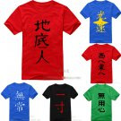Anohana The Flower We Saw That Day Yadomi Jinta short sleeve cotton cosplay T-shirt clothes
