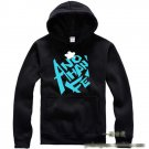 Anohana The Flower We Saw That Day Yadomi Jinta  cosplay Casual costume Sweater  Hoody black