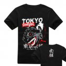 New Tokyo Ghoul Kaneki Ken anime cosplay Halloween short sleeve T-shirt black