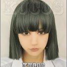 Spirited Away Nigihayami Kohakunushi dark green Cosplay wig+free shipping+Free Wig Cap