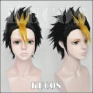 Haikyuu!! Nishinoya Yuu black golden short Cosplay wig + free shipping+ Free Wig Cap