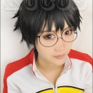 Yowamushi Pedal Onoda Sakamichi black Cosplay wig + free shipping+ Free Wig Cap