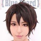 ALDNOAH.ZERO Kaizuka Inaho brown Cosplay wig + free shipping+ Free Wig Cap