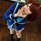 Girl Friend BETA Kokomi Shiina brown Cosplay wig + free shipping+ Free Wig Cap