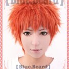 Fate/stay night Shirou Emiya orange mix Cosplay wig + free shipping+ Free Wig Cap
