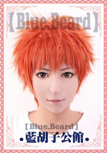 Fate/stay night Shirou Emiya orange mix Cosplay wig + free shipping+ Free Wig Cap