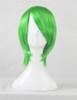 Akame ga Kill! Lubbock green Cosplay wig + free shipping+ Free Wig Cap