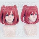 LoveLive! Sunshine!! Kurosawa Ruby red short anime cosplay wig +Free Wig Cap
