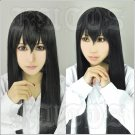 A Corpse is Buried Under Sakurako's Feet Sakurako kujo long 100cm black anime cosplay wig