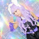 Show by Rock!! Chuchu light purple 80cm Cosplay wig+free shipping+Free Wig Cap