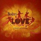 The Beatles Love Cirque Du Soleil shirt size large