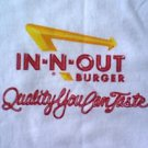 In N Out Burger shirt  Quality You Can Taste size large new