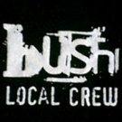 Bush local crew concert tour shirt size xl new