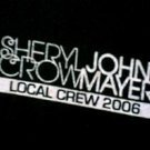 SHERYL CROW & JOHN MAYER 2006 CREW TOUR SHIRT LARGE