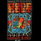 HOPE FEST 2004 concert tour shirt David Johansen size medium