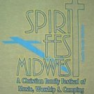 Spirit Fest 1998 concert tour shirt Newsboys Plankeye Michael W. Smith size medium