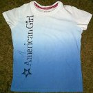 GIRLS AMERICAN GIRL BRAND SHIRT LARGE