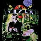 Tesla 1992 Psychotic Supper concert tour shirt with After Show pass