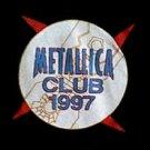 METALLICA 1997 CLUB SHIRT LARGE