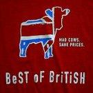 Virgin Megastore Best Of British CD shirt Whos Next size xl