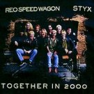 REO Speedwagon Styx Together In 2000 concert tour shirt size large