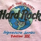 Peter Gabriel 1997 Hard Rock Cafe signature series shirt size xl