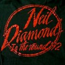 Neil Diamond In The Round 1992 concert tour shirt size medium