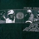 Public Enemy 1990 original Fear Of A Black Planet shirt size xs Chuck D Flavor Flav Ice Cube