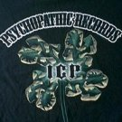 ICP Insane Clown Posse Psychopathic Records 4 leaf clover shirt 2007 size large