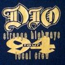 DIO 1994 Strange Highways local crew concert tour shirt xl R.I.P. Ronnie James Dio