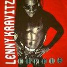 Lenny Kravitz 1995 1996 U.S. Canada Circus concert tour shirt red size large