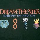 Dream Theater 2003 concert tour shirt Escape From The Studio 2xl xxl