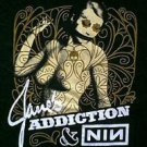 Jane's Addiction Nine Inch Nail NIN 2009 concert tour shirt size 2xl xxl