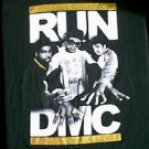 RUN DMC gold glitter shirt size xlt tall