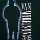 Van Morrison North America 2005 concert tour shirt large