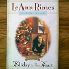 HOLIDAY IN YOUR HEART HARDBACK BOOK LEANN RIMES TOM CARTER 1997