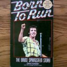 Born To Run The Bruce Springsteen Story paperback book Dave Marsh