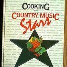 Cooking With Country Music Stars 1986 hardback Recipe Cook book